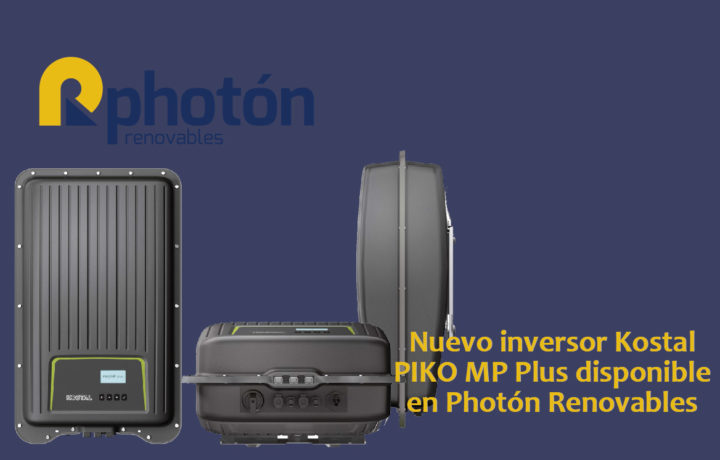 nuevo piko mp plus kostal en photón renovables