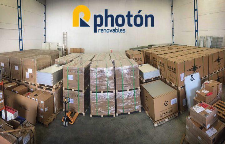 almacen de materiales photon renovables distribuidores instalaciones solares