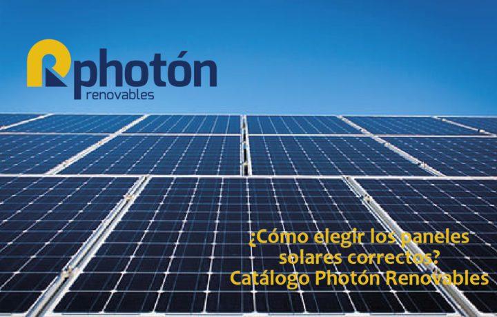 como elegir los paneles solares correctos