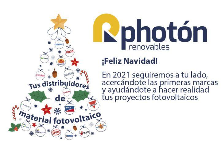 Photón Renovables felicitacion navideña