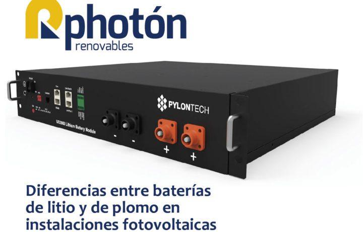 baterías instalaciones fotovoltaicas