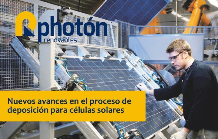 Un grupo de científicos alemanes desarrolla un nuevo proceso en la fabricación de células solares