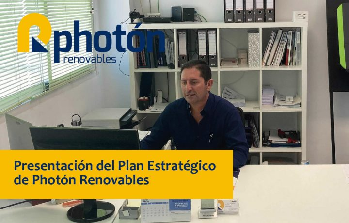 líneas a seguir por Photón Renovables para crecer dentro del sector del material fotovoltaico en España